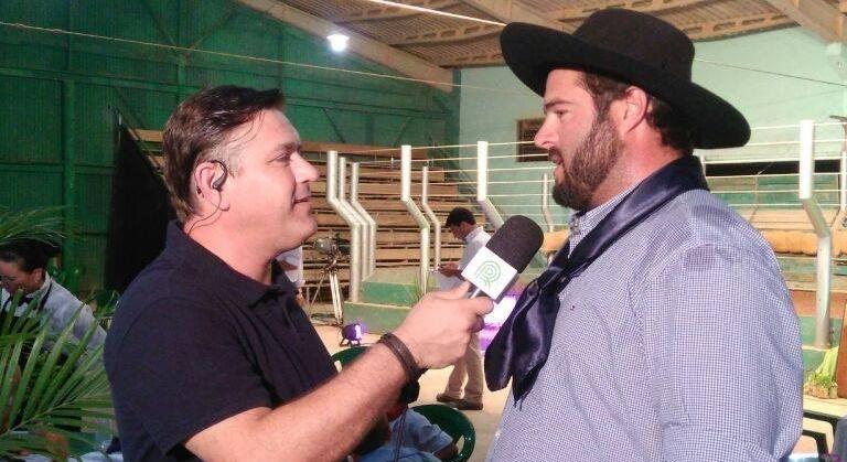 Titular da Fazenda São João em entrevista na aberta do leilão