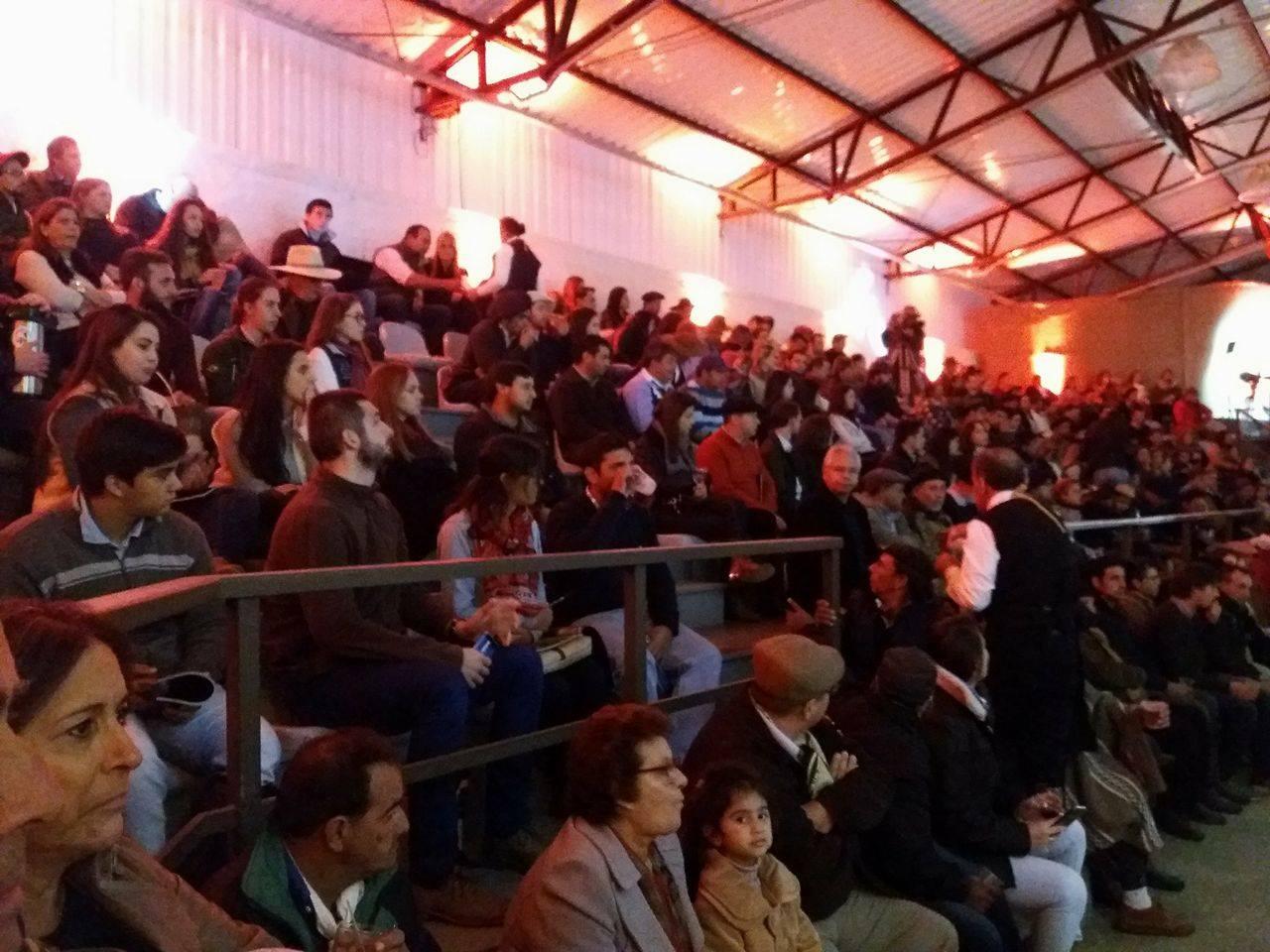 Público lotou o recinto de leilões no aniversário da Basca