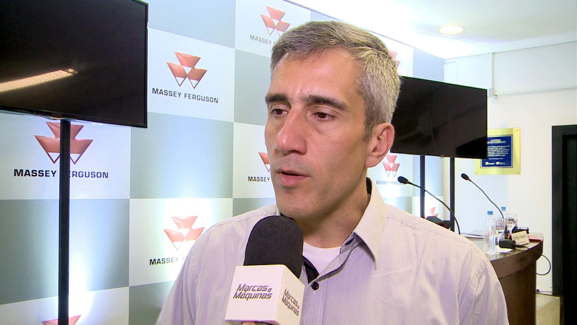 Rodrigo Junqueira - diretor de vendas da Massey Ferguson